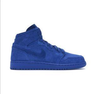 """Air Jordan 1 """"Royal Blue Suede"""""""